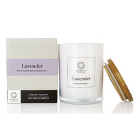 Lavender with Sandalwood Album Candle